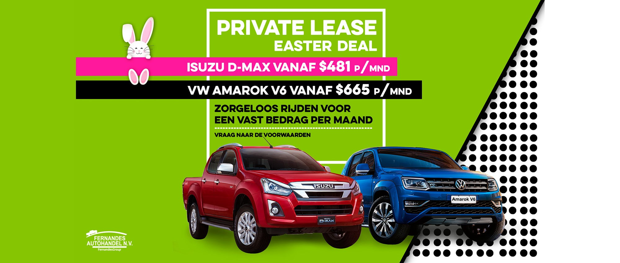Private Lease Easter Deal